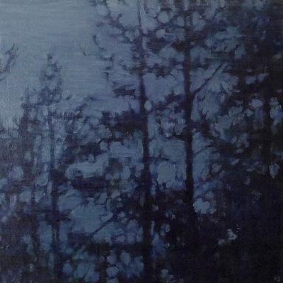 Untitled (2), 35 x 35 cm, oil on panel