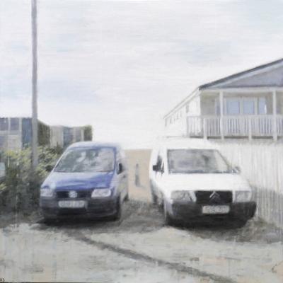 Coast 11, 2018  60 x 60 cm  Oil on panel