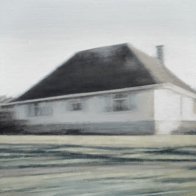 Coast 10, 2018  35 x 35 cm  Oil on panel