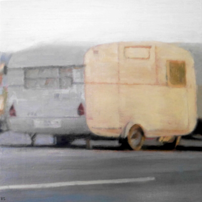 Coast 14, 2019  35 x 35 cm  Oil on panel  SOLD